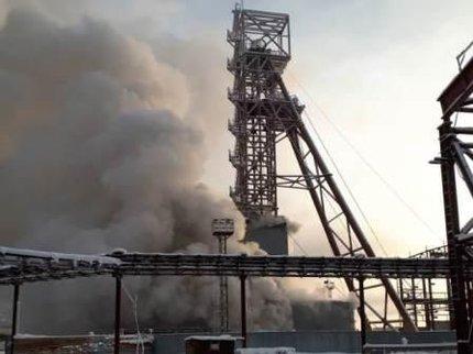 В шахте «Уралкалия» в Соликамске произошло задымление