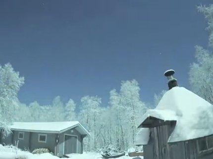 ВФинляндии запечатлели «сияние сотни лун»