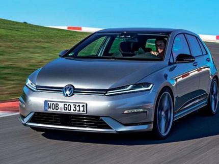 Опубликовали первое рендерное изображение VW Golf 8