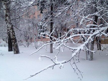 Весенний снегопад в столицеРФ побил рекорд 1895г.