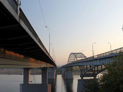 Нановом мосту через белоснежную вУфе будет работать реверсивное движение