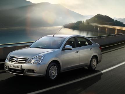 Nissan Almera в мае стал бестселлером марки в России