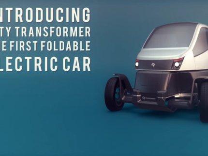 ВИзраиле представили складной автомобиль City Transformer
