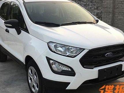 Улучшенный Форд EcoSport рассекретили в КНР