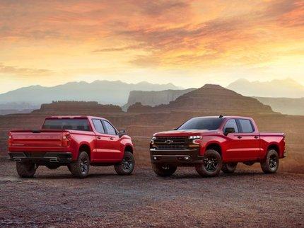 Новый Chevrolet Silverado рассекречен до официальной премьеры