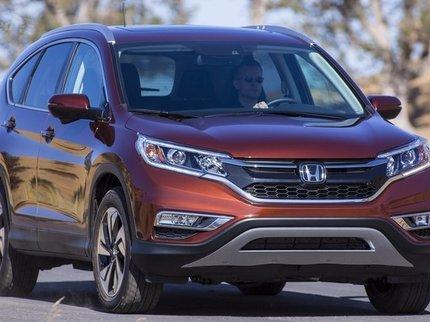 Honda объявила рублевые цены на обновленный кроссовер CR-V