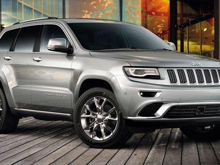В РФ  резко увеличились  продажи вседорожников  марки Jeep