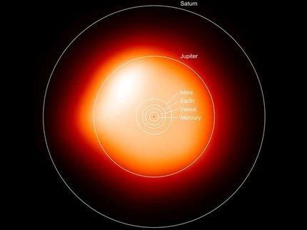 Ученые показали детальный снимок звезды изсозвездия Ориона