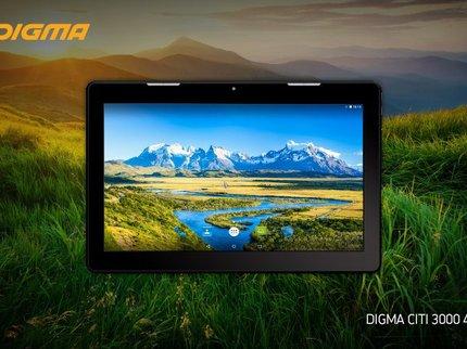 Digma предложила в Российской Федерации новый дешевый планшет CITI 3000 4G