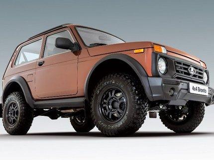 «АвтоВАЗ» назвал стоимость джипа Лада 4x4 Bronto