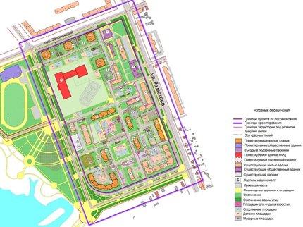 ВЗатоне Уфы построят новый жилой квартал