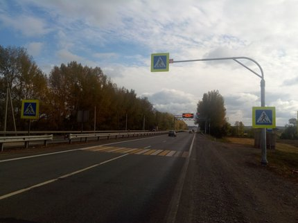 ВБашкирии запустили отремонтированный участок дороги
