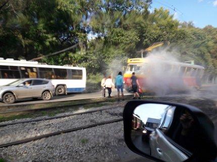 Известны детали возгорания трамвая вУфе