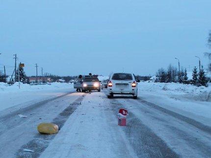 ВБашкирии шофёр на«Калине» сбил 2-х пешеходов
