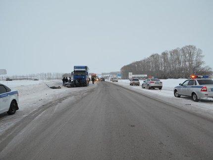 ВБашкирии «ВАЗ 2104» врезался вовстречный большегруз «Вольво»