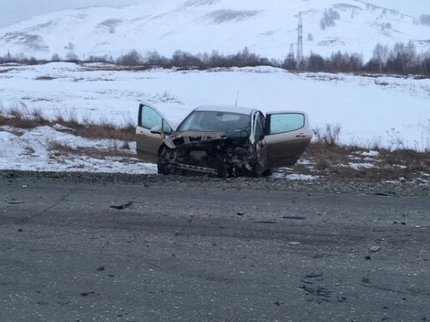 Утром вБашкирии столкнулись ВАЗ-2110 и Пежо, необошлось без жертв