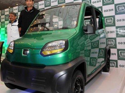 Qute - новый самый дешевый автомобиль в мире