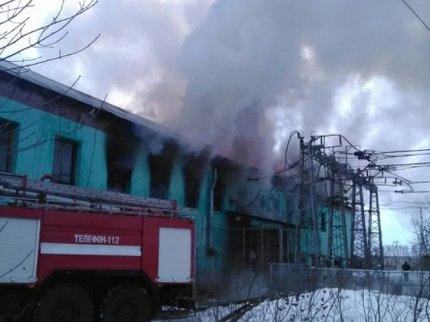 Ктушению возгорания на ж/д станции вБашкирии привлекли пожарный поезд