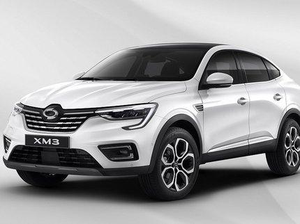 Renault Arkana выйдет под маркой Samsung
