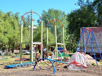 Доконца сентября вУфе построят 56 детских площадок