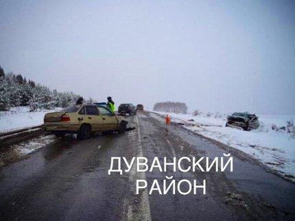 ВБашкирии вДТП женщины-водители получили многочисленные травмы