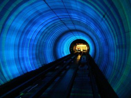 В КНР построят наибольший подводный туннель