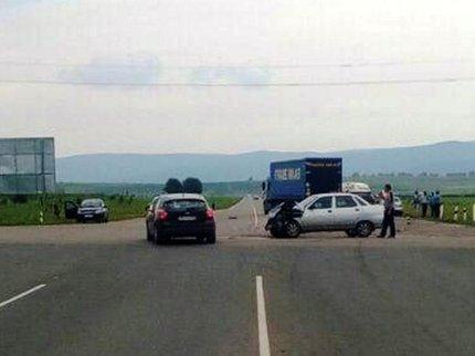 ВБашкирии вДТП один человек умер итрое попали в поликлинику