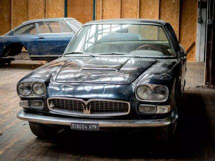 Седан Maserati, 40 лет простоявший в гараже, продадут на eBay