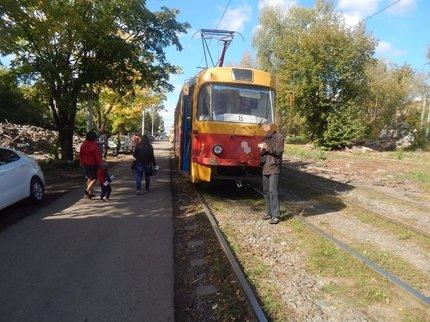 ВУфе ребенок попал под трамвай