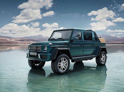 Названы рублевые цены на вседорожный автомобиль Мерседес Бенс Maybach