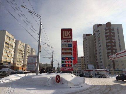 Науфимских АЗС «ЛУКОЙЛ-Уралнефтепродукта» подорожал бензин