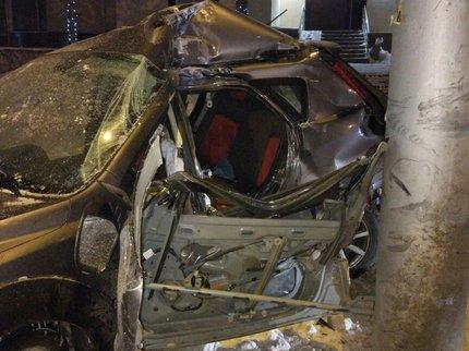 ВУфе вДТП погибла 24-летняя пассажирка