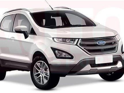 В конце года будет представлен обновленный Ford EcoSport