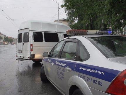 ВУфе шофёр без прав перевозил пассажиров