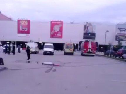 Ночью вУфе из-за угрозы теракта эвакуировали людей из«Меги»