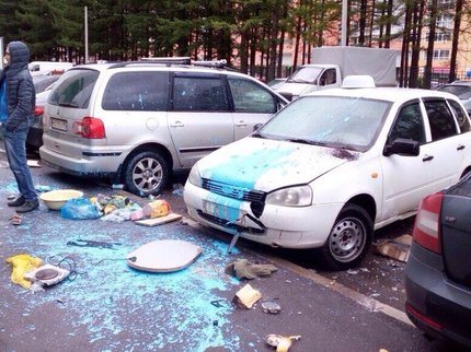ВУфе задержали мужчину, повредившего 5 авто