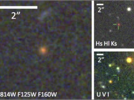 Вкосмосе найдена ранняя «мёртвая галактика»