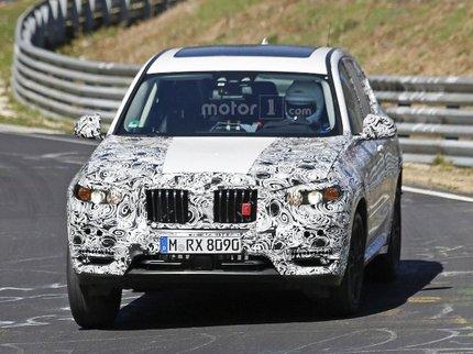 BMW начала тесты нового поколения кроссовера X3