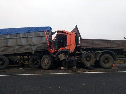 ВБашкирии устанавливают личность погибшего под колесами КамАЗа мужчины