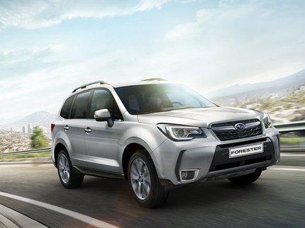 Subaru объявила новые цены Forester и Outback