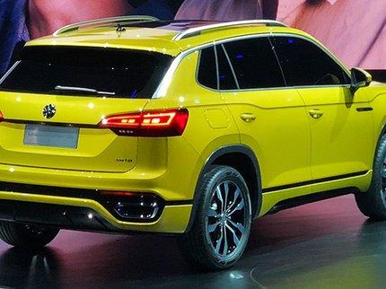 Фольксваген представил сразу три SUV для китайского рынка