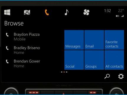 Microsoft установит некоторые модели Ниссан и БМВ приложение Кортана