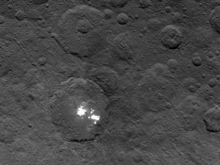 Nasa опубликовало видео пролета Dawn над поверхностью Цереры