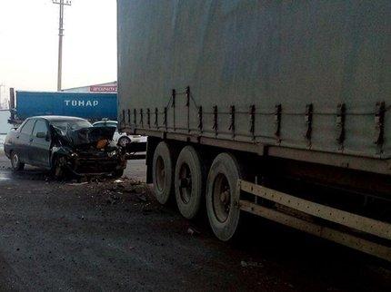 Женщина пострадала вДТП с фургоном натрассе вИглинском районе