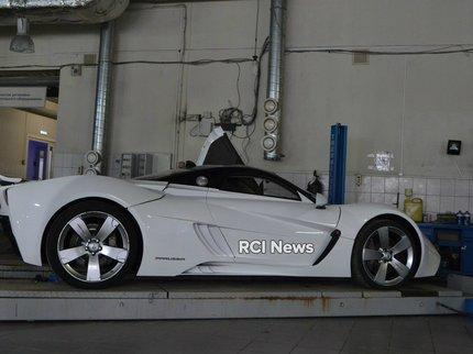 Вглобальной web-сети появились первые фото восстановленных спорткаров Marussia
