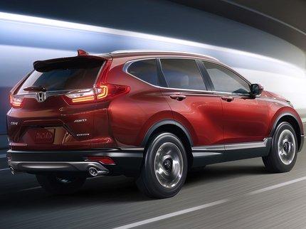 ВЛос-Анджелесе представят новый кроссовер— Хонда CR-V