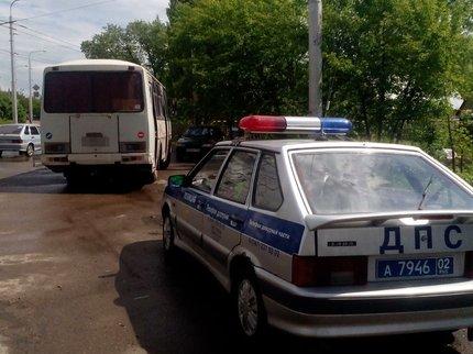 ВУфе работники ГИБДД словили водителя автобуса без прав