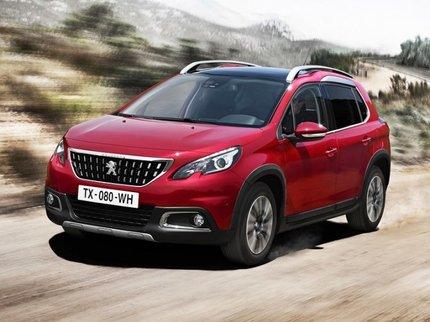 На улучшенный кроссовер Peugeot (Пежо) 2008 объявлены рублёвые цены