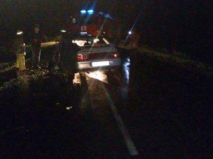 Встрашном ДТП вБашкирии умер шофёр «ВАЗа»