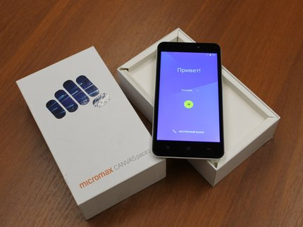 Продажи Micromax Canvas 2 (2017) стартовали в РФ